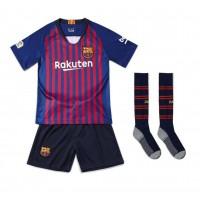 Детская  форма Барселоны домашний